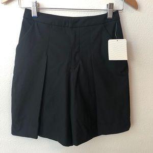 NEW! Lululemon Long Story Short Black Pockets Sz 2